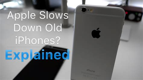 apple slowing  older iphones androiddigcom
