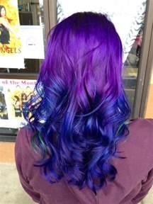 purple blue hair color purple to blue hair colors ideas
