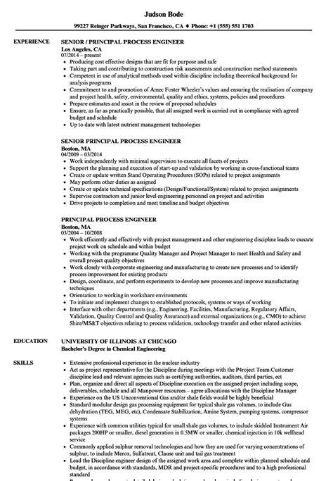Process Engineer Resume by Process Engineer Resume Kerrobymodels Info
