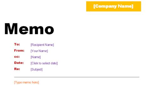 Microsoft Office Memo Template word memo templete images frompo 1
