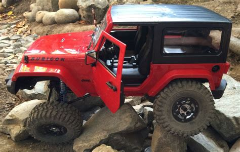 jeep rock crawler rc rc jeep jk rubicon wrangler backyard rock crawler youtube