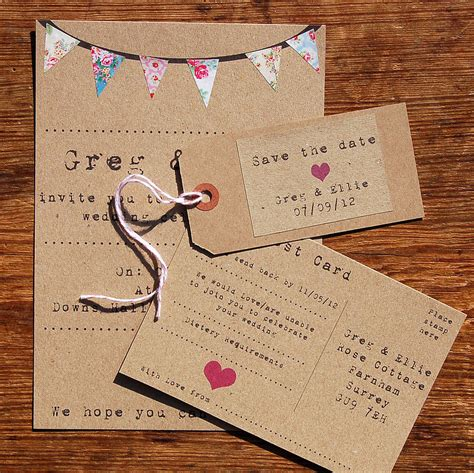 bunting wedding stationery uk bunting wedding stationery range by a bird a bee