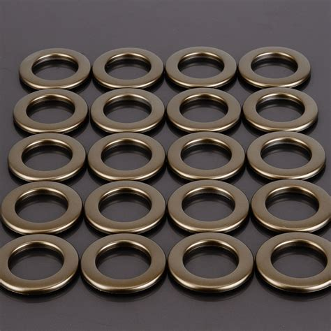 curtain snap rings set of 20 plastic snap drapery curtain eyelets heading