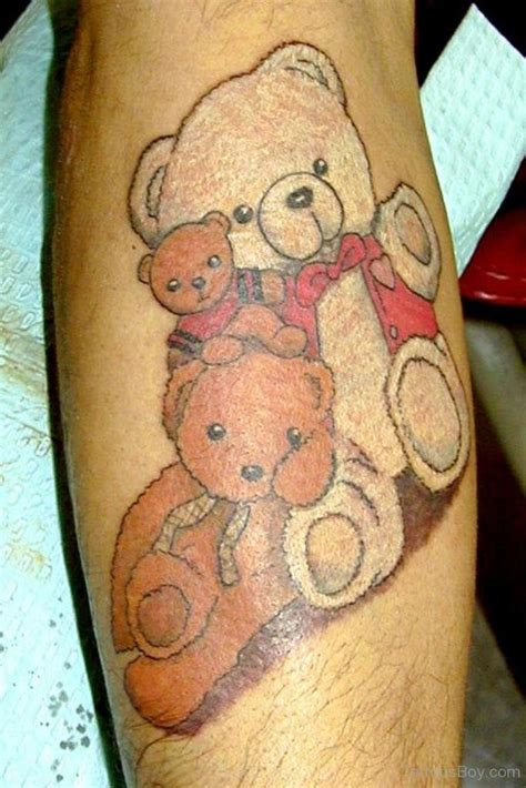 teddy bear tattoos teddy tattoos designs pictures