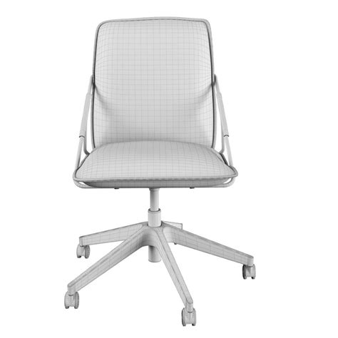 Ikea Villstad Swivel Chair 3d Model Max Obj Fbx Ikea Swivel Chair