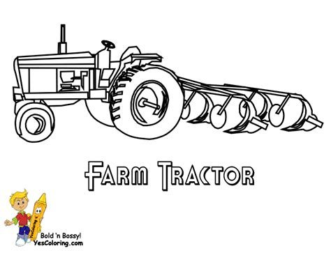 coloring page of tractor and snow plow hardy tractor coloring tractor free john deere