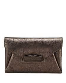 Givenchy Antigona Gunmetal Set Clutch 1 givenchy antigona evening envelope small goat leather clutch gunmetal