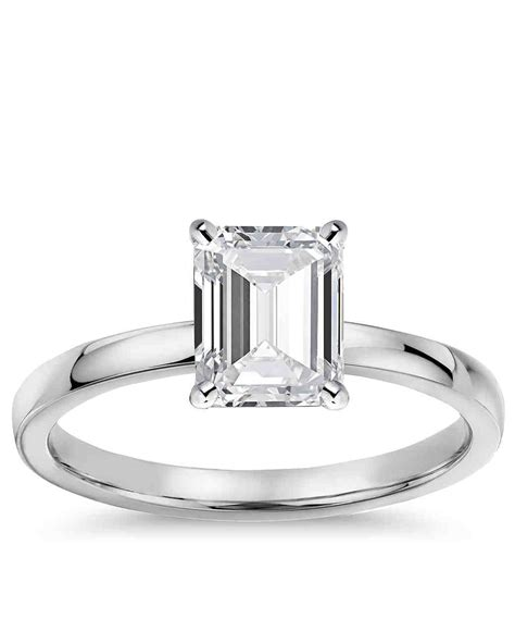 emerald cut engagement rings wedding promise