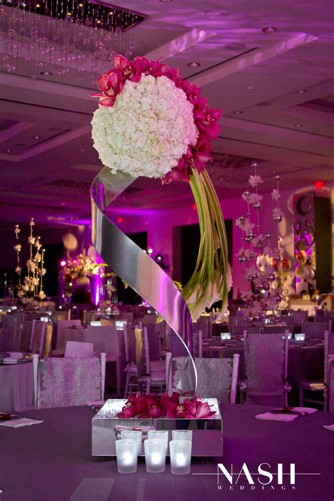 contemporary centerpieces sonal j shah event consultants llc wedding trends