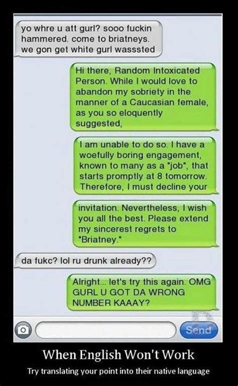 Drunk Texting Meme - funny pictures 38 pics