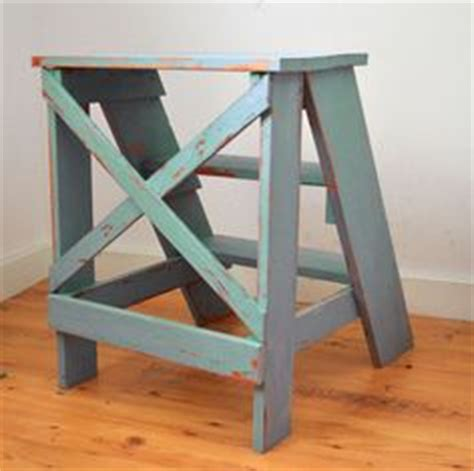 ana white step up side table diy projects vintage x back step stool end table plans from ana