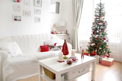 dekoideen für zuhause idee wohnzimmer weihnachtsdeko