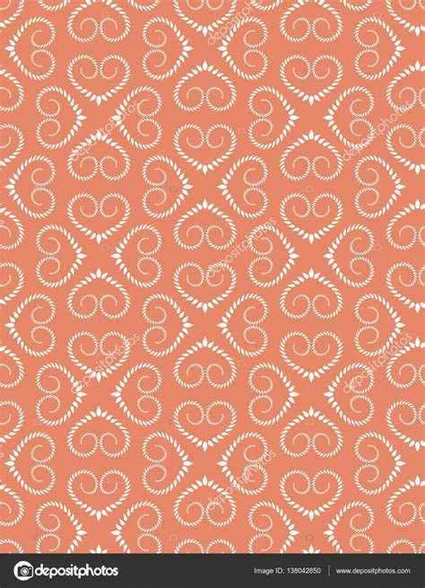vintage heart pattern seamless heart pattern vintage texture twist ornament of