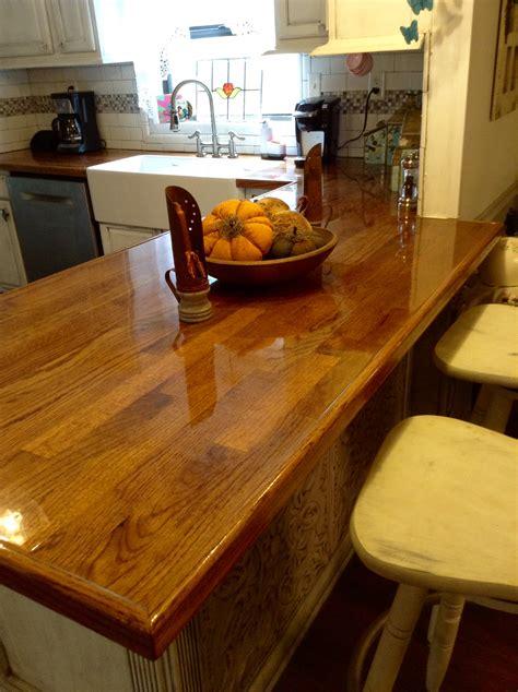 Countertop Review by Remodelaholic Diy Butcher Block Wood Countertop Reviews