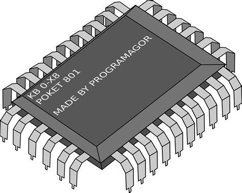 integrated circuit chip clipart image vectorielle gratuite cpu processeur 201 lectronique puce image gratuite sur pixabay 30273