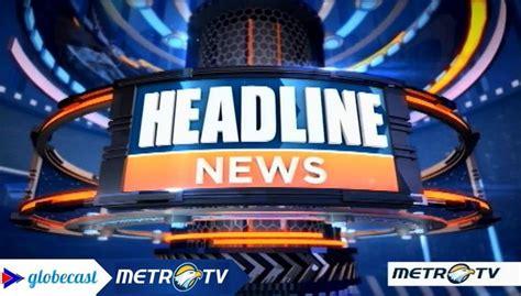 format naskah berita televisi contoh naskah berita televisi terbaru berpendidikan