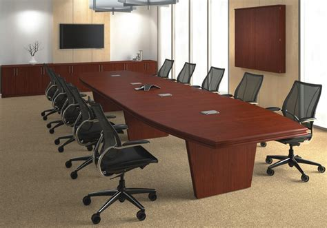 Boat Shaped Meeting Table Custom Boat Shaped Conference Tables