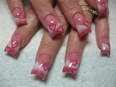 valentines day nails s day nails design ideas instyle fashion one