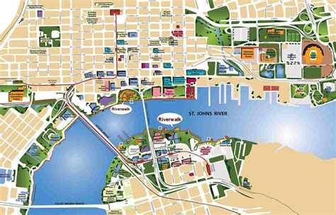 printable map jacksonville fl maps history of jacksonville fl libguides at florida