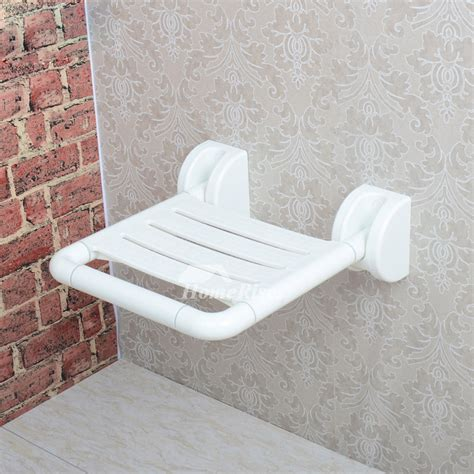 bathtub accessories for the elderly hn wall mounted stainless steel folding shower seats for