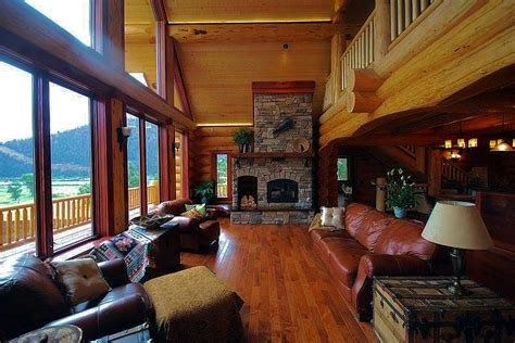 log home living rooms log cabin living rooms and great rooms north american
