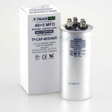 run capacitor 40 5 mfd 440v