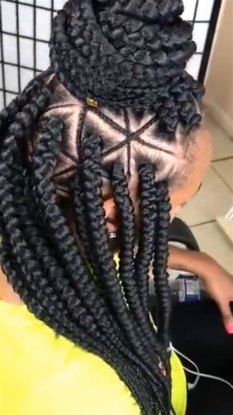 diy spider web jumbo box braids black hair triangle box braids are a trend you need to try bglh