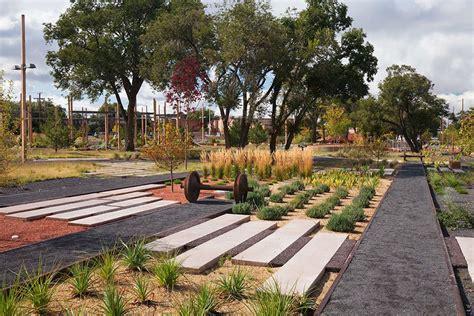 santa fe park railyard park