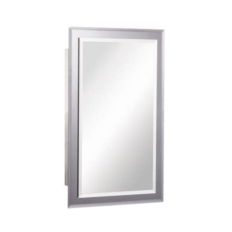 deco mirror 16 in w x 26 in h x 5 in d framed single mirror on mirror 16 in w x 26 in h x 5 in d frameless