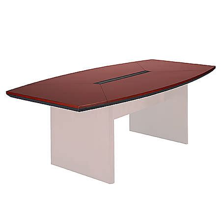 mayline corsica conference table mayline corsica conference table top boat shaped 96
