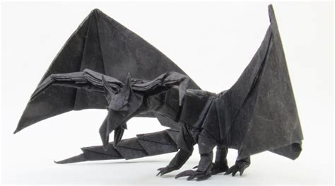 Origami Darkness - how to make an origami darkness in diy crafts