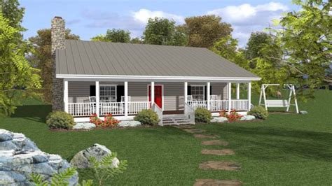Small One Story House Plans With Porches Small Ranch House Plans With Porch Open Ranch Style House Plans Small One Story House Plans