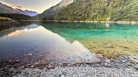 blue wallpaper nz blue lake nelson new zealand the clearest lake in the
