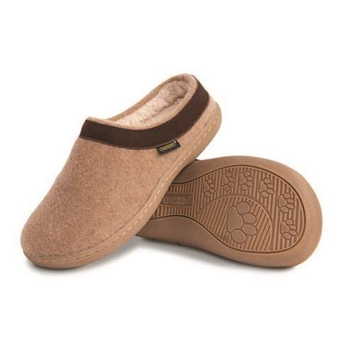 curly slippers curly s clog style slippers at brookstone buy now