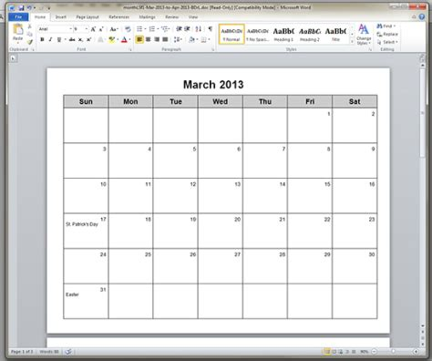 printable calendar i can type on you to type in important dates and such if you need you