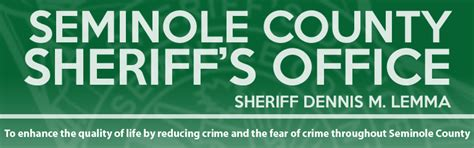 Seminole County Civil Search Seminole County Sheriff S Office