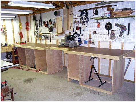 garage tool bench ideas diy paint storage cart plans free home plans bench