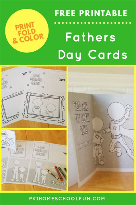 printable fathers day cards for to make free printable fathers day cards for to fold color