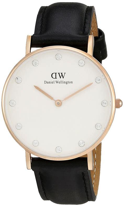 New Jam Tangan Murah Dw Daniel Wellington Leather Polos Ro daniel wellington quartz with analog display and black leather