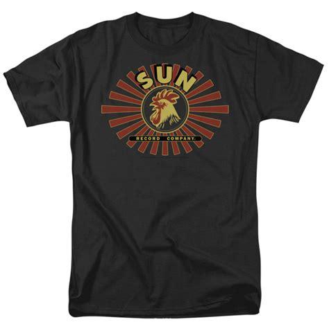 T Shirt Sun sun records t shirt sun rooster mens black