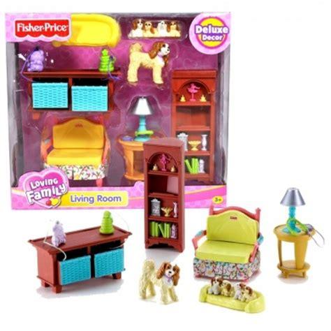 fisher price loving family dollhouse furniture set