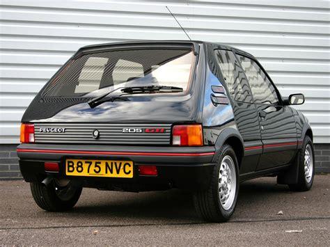 pug peugeot peugeot 205 1 6 gti classic cars peugeot