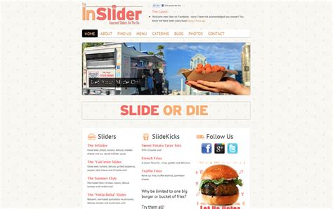 food truck website design food truck websites web design for food trucks
