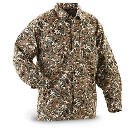5 11 Tactical Digital 5 11 tactical 174 ripstop tdu sleeved shirt digital