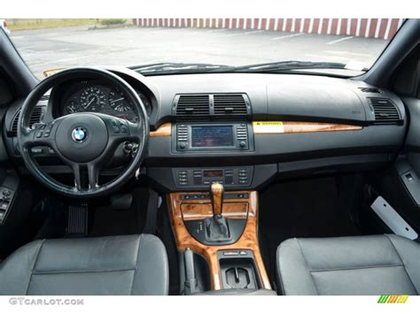 bmw x5 dashboard 2002 bmw x5 3 0i black dashboard photo 74165191