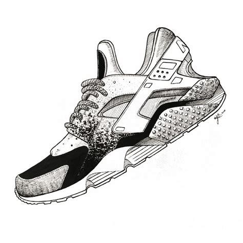 Easy Sneaker Drawing