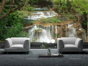 Waterfall Wall Mural waterfall wall murals