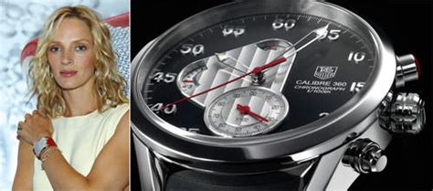 Uma Thurman And Tag Heuer Exclusivity Style And Success by Innovation In Luxury Timekeeping