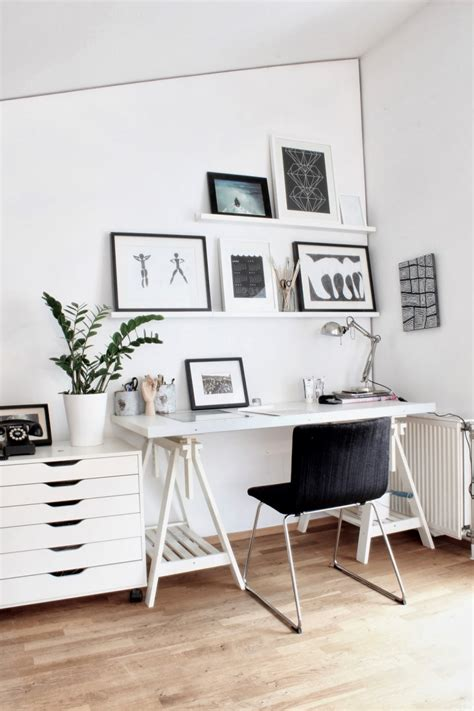 home office design blogs interior exquisite home office images from scandinavian design blogs using white wooden wall