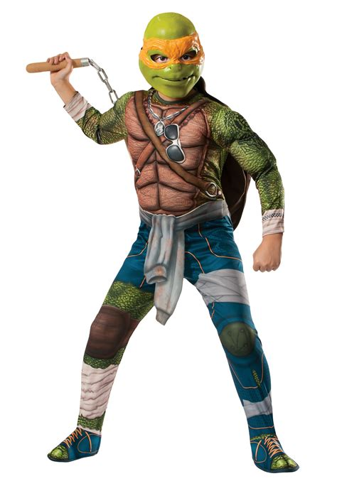 Turtle Decorations For Home by Ninja Turtle Movie Child Deluxe Michelangelo Costume
